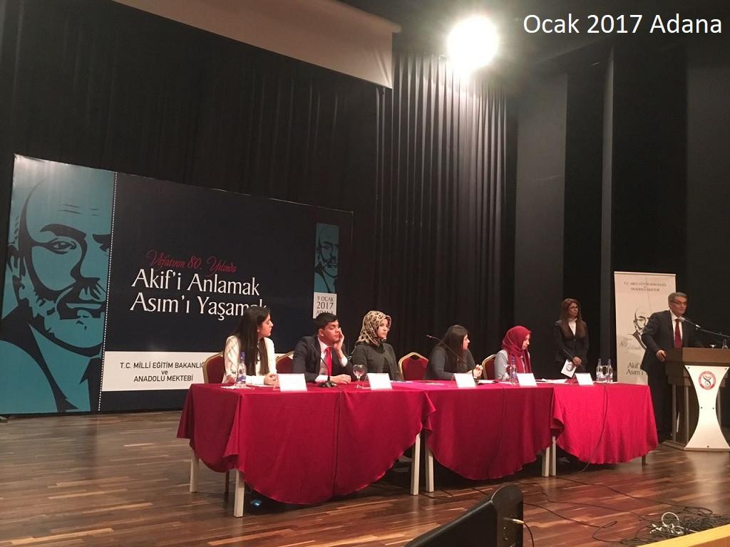 Anadolu Mektebi 2017 yılı