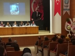 BALIKESİR'DE CENGİZ AYTMATOV PANELİ YAPILDI