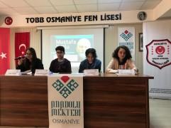 OSMANİYE'DE MUSTAFA KUTLU OKUL PANELİ